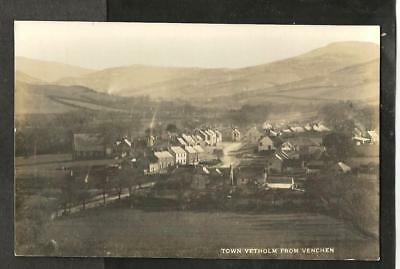 A068 Early Postcard, Town Yetholm, Roxburghshire