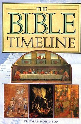 *New Hardcover* BIBLE TIMELINE by Thomas Robinson (Fully Illustrated 2000)