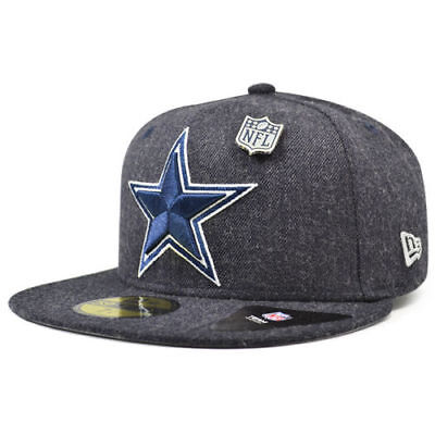 Dallas Cowboys 2018 Nfl New Era 59Fifty Heathered Pin Fitted Hat Cap $35