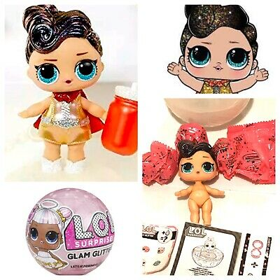 LOL Surprise The Queen Glam Glitter Doll Ball Big Sister Bling Sparkle UltraRare