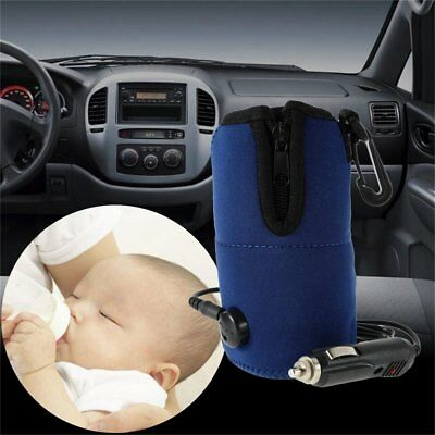 12V Food Milk Water Drink Bottle Cup Warmer Heater Car Auto Travel Baby RY