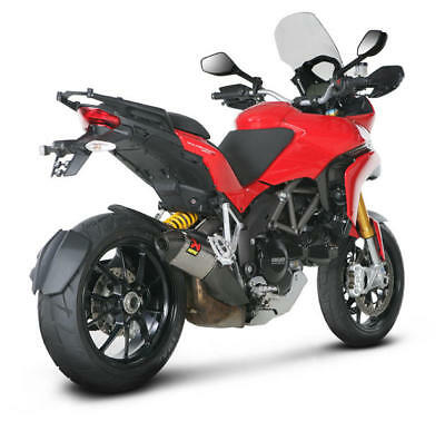 Akrapovic Street Legal Slip-On Muffler Titanium Ducati Multistrada 1200