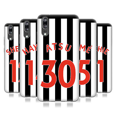 Newcastle United Fc Nufc 2017/18 Players Home Kit 2 Gel Case For Huawei Phones