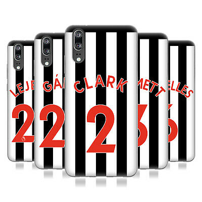 Newcastle United Fc Nufc 2017/18 Players Home Kit 1 Gel Case For Huawei Phones