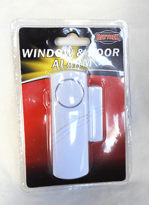 Door / Window Alarm - Contact Alarm - Battery Operated - Easy to Fit & Use - NEW