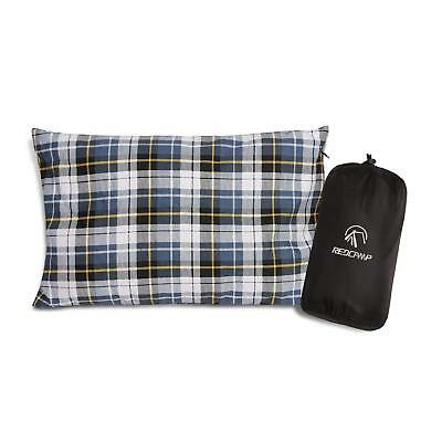REDCAMP Outdoor Camping Pillow Lightweight 1PC/2PCS Flannel Travel Pillow Cases