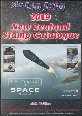 New Zealand Len Jury Stamp Catalogue 2019 Latest In Full Colour (Id:lit 720)