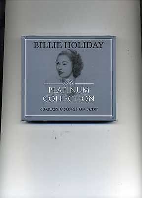 Billie Holiday - The Platinum Collection - 3 Cds - New!!
