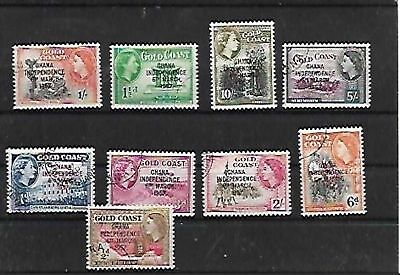 68515 / Afrika Lot gestempelt Gold Coast 1957