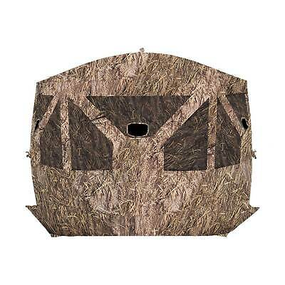 Barronett Blinds Pentagon Pop Up Large Ground Hunting Hub Blind in Blades Camo
