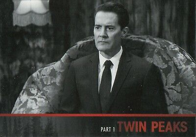 Twin Peaks 2018, Complete A Limited Event Chase Card Set L1-L54