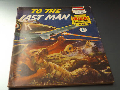 VALIANT PICTURE LIBRARY,NO 66,1966 ISSUE,V GOOD FOR AGE,52 yrs old,RARE COMIC.