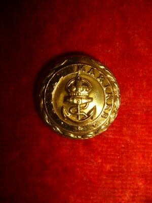 The Royal Marines WW1/WW2 Button, 23 mm - Maker Marks