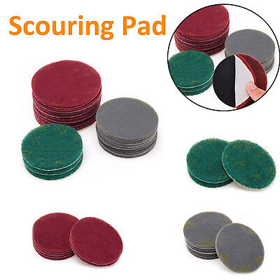 Hook And Loop Abrasive Scotch-Brite Conditioning Scouring Pad Dia 100/125/150mm