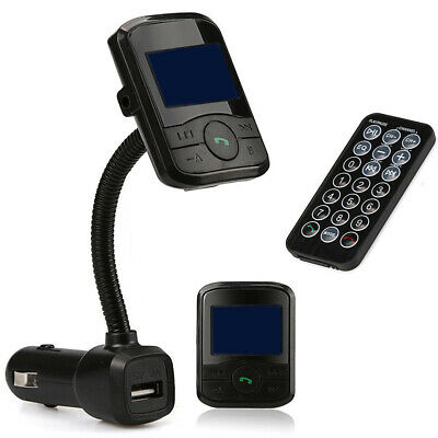 Bluetooth/wireless LCD car mp3 player fm transmitter+Remote SD USB Charger Kit K