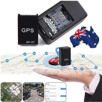 GF07 Mini GPS Real Time Car Locator Tracker Magnetic GSM/GPRS Tracking Device AU