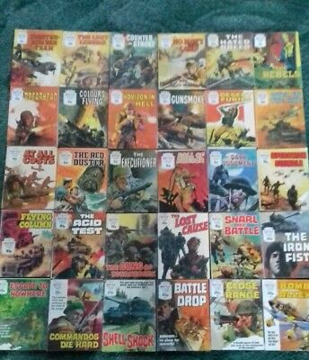 30 X Battle Picture Library,war Comics,bulk Lot Collection,1