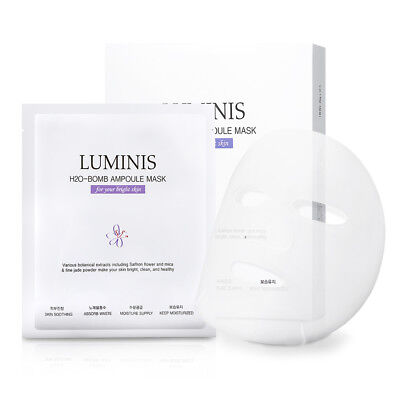 Luminis H2O-Bomb Ampoule Mask Sheet 5ea Facial Skin Care Pack Soothing Nutrition
