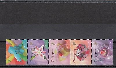 Singapore - Sg1451-1455 Mnh 2005 Greeting Stamps