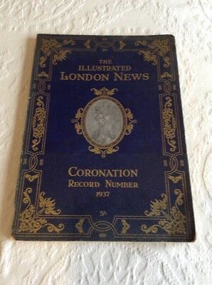 Vintage The Illustrated London News, Coronation Record Number 1937