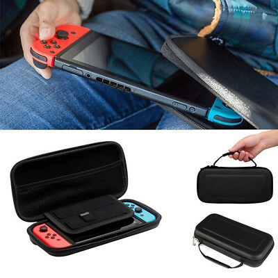Nintendo Switch EVA Hard Shell Travel Case-Storage for Games plus Accessories.
