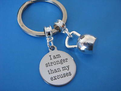 Kettlebell Keyring Fitness Crossfit Keep Fit Resistane Strength Training Weights