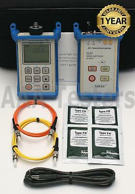AFL Noyes SMLP5-5 SM MM Fiber Optic Loss Test Set OLS4 OLS-4 OPM5-2D SMLP 5-5
