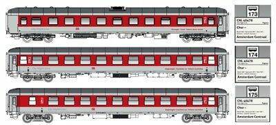 Ls Models H0 49054 3tlg. Set On. Ep.vi Db Ag Logo Pegasus Set Dc