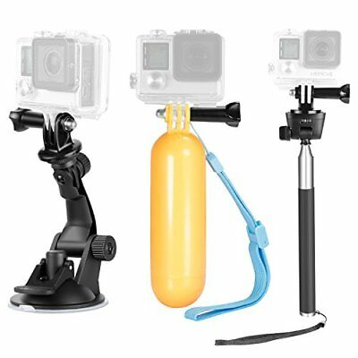 Neewer 9-in-1 Action Camera Accessory Kit for GoPro Hero 7 6 5 4 3 2 1 Session
