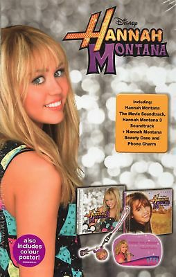 Hannah Montana Collector Limited Edition 2 x CD +Beauty Case/Phone Charm/Poster