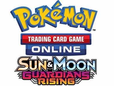 50x Sun And Moon Guardian Rising Codes Pokemon PTCGO Online Booster Sent Fast!!