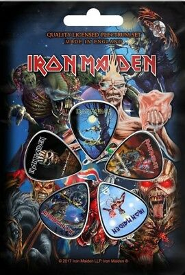 Iron Maiden - Later Albums (New) (Gift) Plectrum Pack Official Band Merch