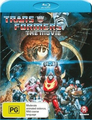Transformers: The Animated Movie = NEW Blu-Ray Region B