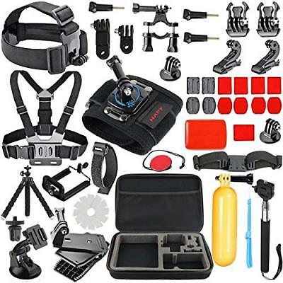HAPY Gopro Accessories kit for GoPro Hero 6 5 Black Hero Session GoPro Fusion