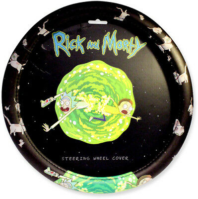 Rick and Morty Steering Wheel Cover [New Misc] One Size Fits All