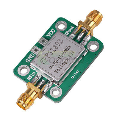 LNA 50-4000 MHz RF SPF5189 NF = 0.6dB inm-B9 Low Noise Amplifier Signal Receiver