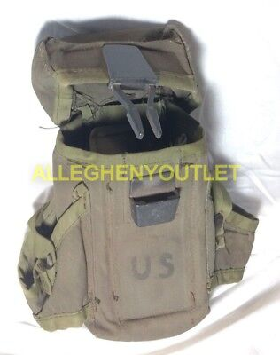 US Military Small Arms Ammo Ammunition Pouch Case LC-1 VGC