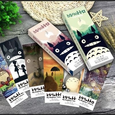 32 pcs/pack My neighbor Totoro book marks Cartoon paper style random