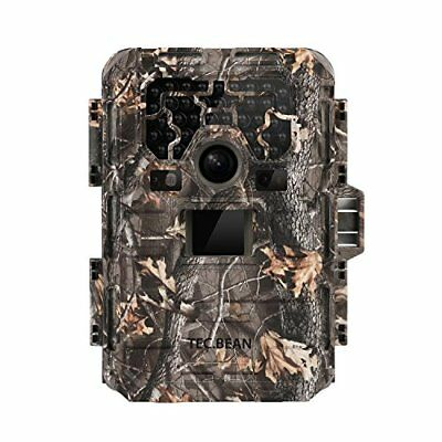 TEC.BEAN Game Trail Hunting Camera, 12MP 1080P Full HD No Glow Infrared