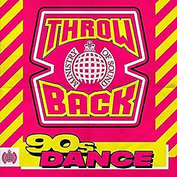 Throwback 90s Dance - Ministry Of Sound - Various (NEW 3CD)