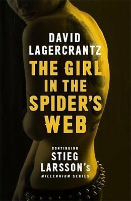 The Girl in the Spider's Web: Continuing Sti... by Lagercrantz, David 0857053507