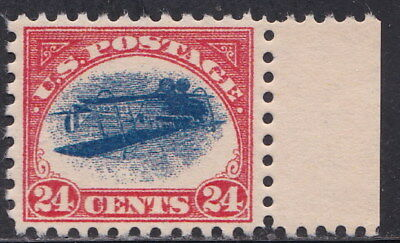 1918 USA RARE Inverted Jenny Airmail 24c MNH Stamp Gummed Aged REPLICA