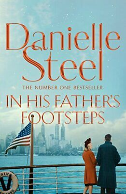 In His Father's Footsteps by Steel, Danielle Book The Cheap Fast Free Post