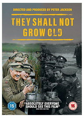 They Shall Not Grow Old [DVD] [2018] [New DVD]