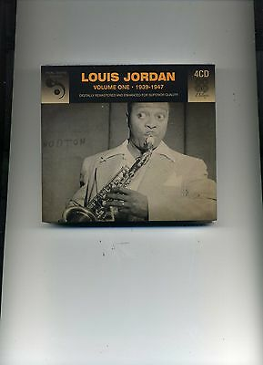 Louis Jordan - Volume One - 1939 - 1947 - 4 Cds - New!!