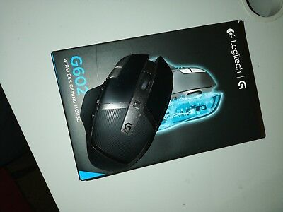 LOGITECH G602 WIRELESS Gaming Mouse 2500dpi Optical Black RGB