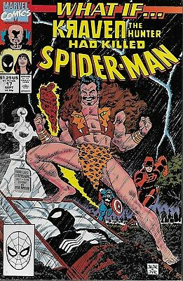 What if...? (Vol.3) No.17 1990 What if Kraven the Hunter had killed Spider-Man?