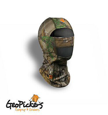Spika Hunting Camouflage Form Fit Balaclava - One Size Suits Most, Camo H-306