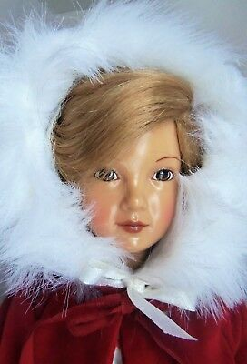 "Effanbee Reproduction 14"" CINDY Grand Finale Christmas Doll MIB Dewees Cochran"