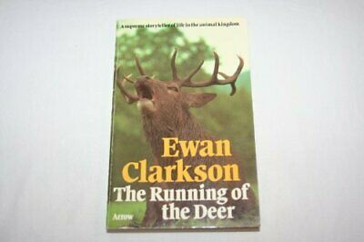 Running of the Deer by Clarkson, Ewan Book The Cheap Fast Free Post